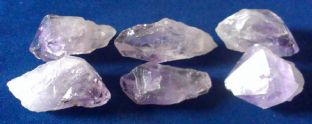 Amethyst - Point - Small (1-2cm) x 6